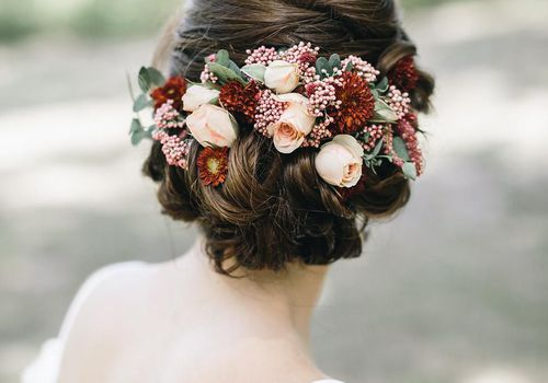 wedding flower crown tips